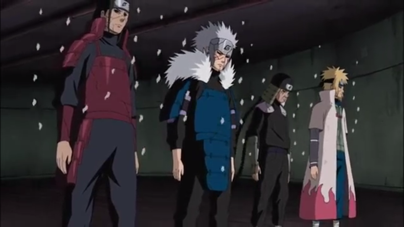 Four Hokages