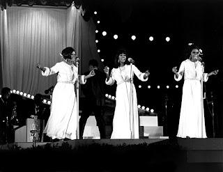 The Supremes at KHJ's 1967 Concert at the Hollywood Bowl