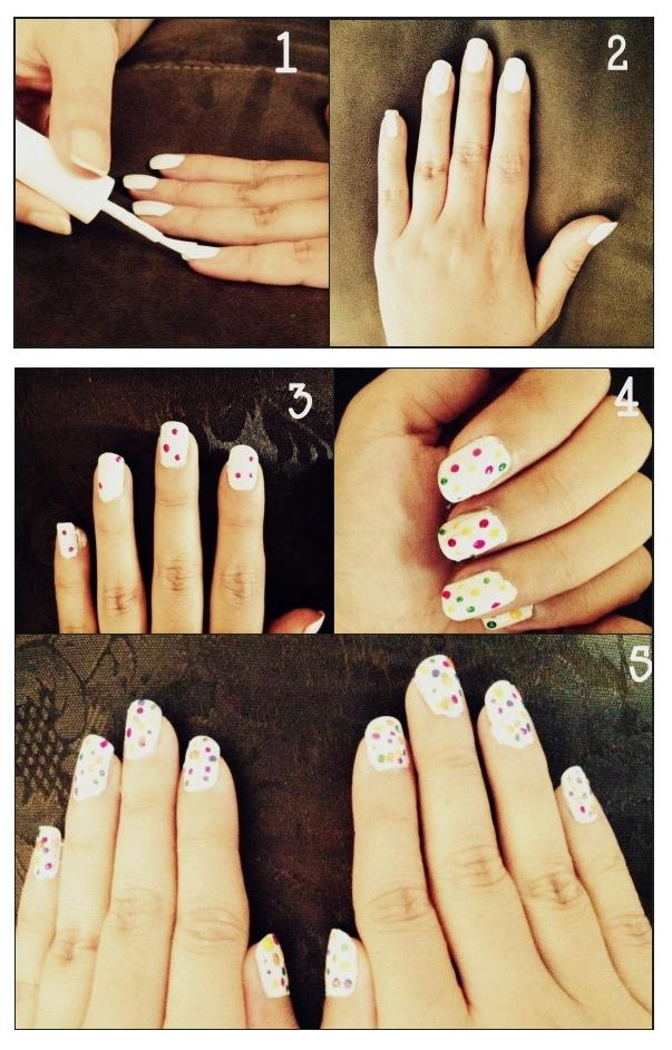 Manicure Tutorials: How To Make Color Blast Nails