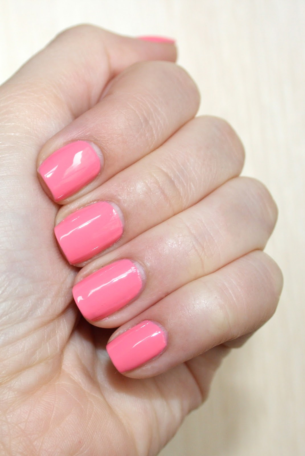 Notd sally hansen complete salon manicure in 510 i pink i for Polished nail salon