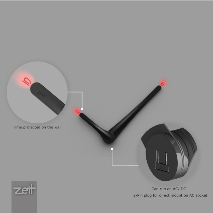 Modern and Minimalist LED Wall Clock – Minimalist Wall Clock