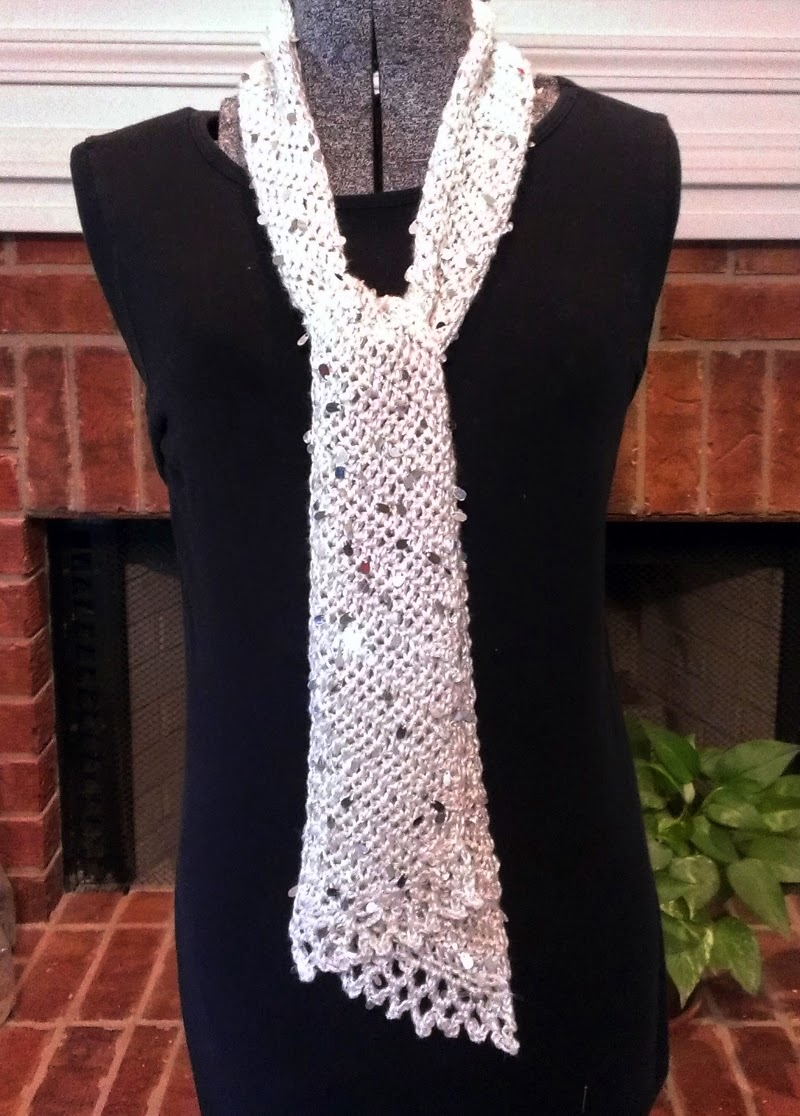 Crochet Scarf Patterns With Thin Yarn : Chie Crochets & Knits too!: Skinny Crochet Icicle Scarf ...