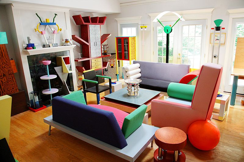 The Memphis Art Movement Is Known As A Colorful, Eccentric And Vibrant  Style Of Furniture Design. U0027