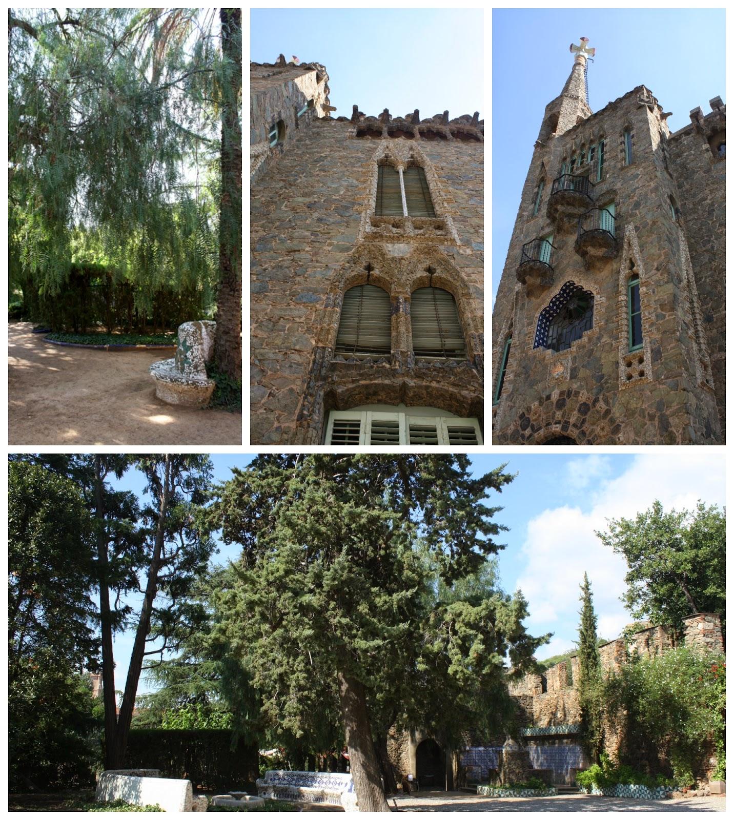 Torre Bellesguard A.Gaudi Barcelona