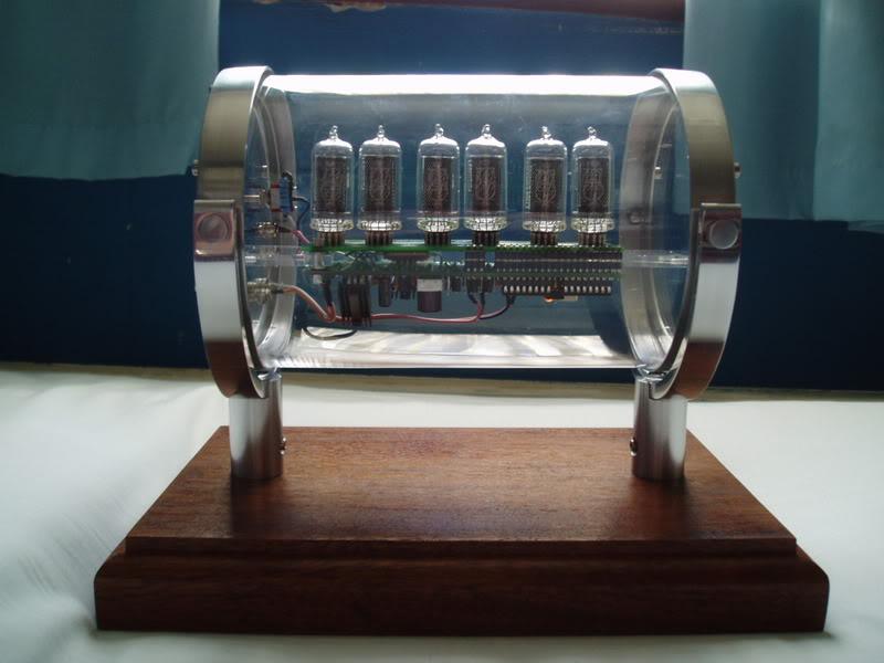 Epbot Our Glass Nixie Clock Case