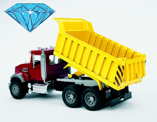 Dump trucks, diamonds and Customer Service