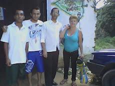James, Fabrício, Valdir, Ondina