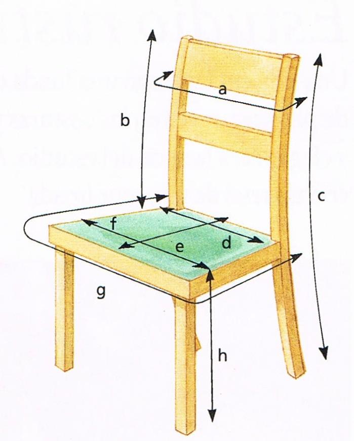 Patrones de costura fundas para sillas 1 - Como forrar una silla de escritorio ...