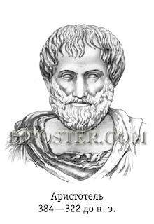 Аристотель. Плакат Великие ученые биологи