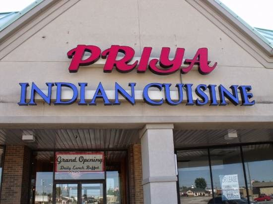 Priya Indian Restaurant in Parma Ohio