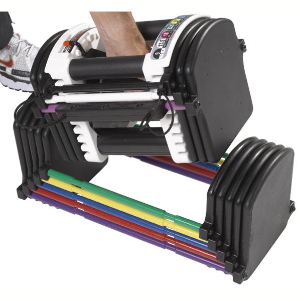 Adjustable Weights Ratings: Adjustable Dumbbells Review: PowerBlocks Adjustable