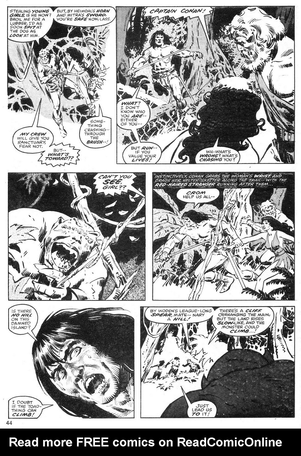 The Savage Sword Of Conan Issue #40 #41 - English 44