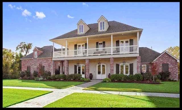 Louisiana homes and land homes in kensington estates for Home builders louisiana