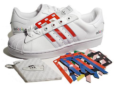 Adidas Superstar Colors Stripes