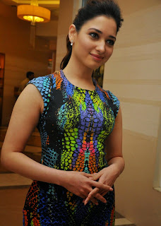 Actress Tamannaah  Picture in Short Dress at Celkon Mobile OCT A510 Launch  63.JPG