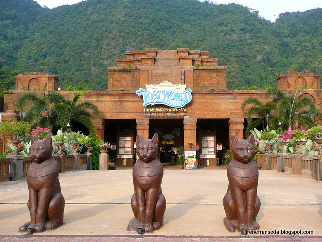 Wanderlust day 2 ipoh lost world of tambun a very picturesque themepark everywhere we look there are mountains and hills gumiabroncs Choice Image