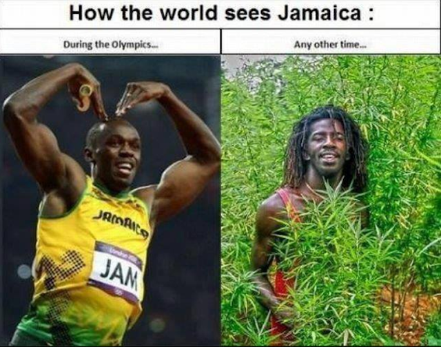 Funny Jamaican Meme : Funny how the world sees jamaica picture joke meme