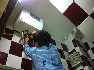 Địa chỉ sửa bình nóng lạnh tại Hà Nội