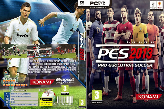 تحميل لعبة Pro Evolution Soccer 2013 برابط واحد مباشر