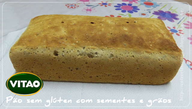 Pão com sementes e sem Glúten