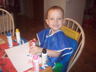 Paint daubers are wonderful for toddlers!