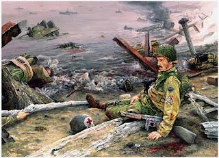 D Day Invasion Saving Private Ryan Nicholas Stix, Uncenso...