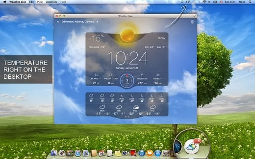 apalon weather gadget