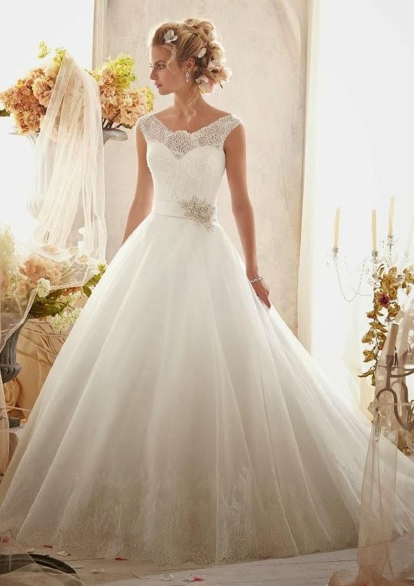 Mori Lee Ball Gown Wedding Dresses : Link camp wedding dress collection mori lee by madeline