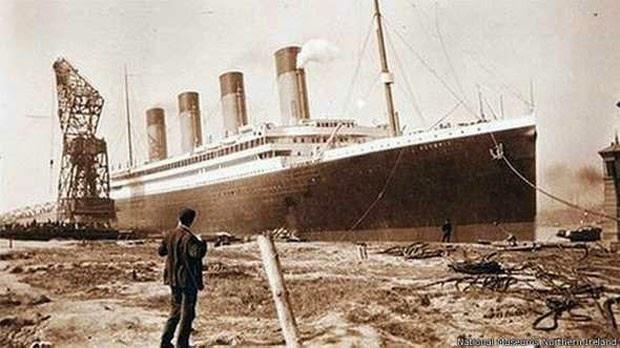Titanic imagem antiga