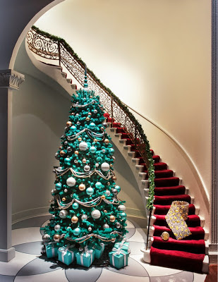 Tiffany Christmas Window 2012