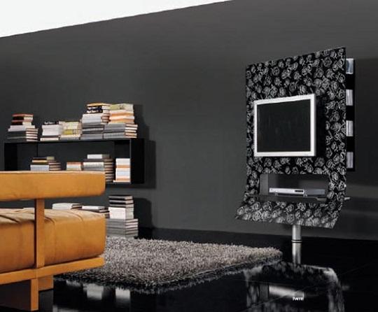 Tv lounge decor interior design and deco