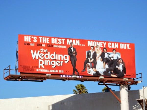 The Wedding Ringer movie billboard