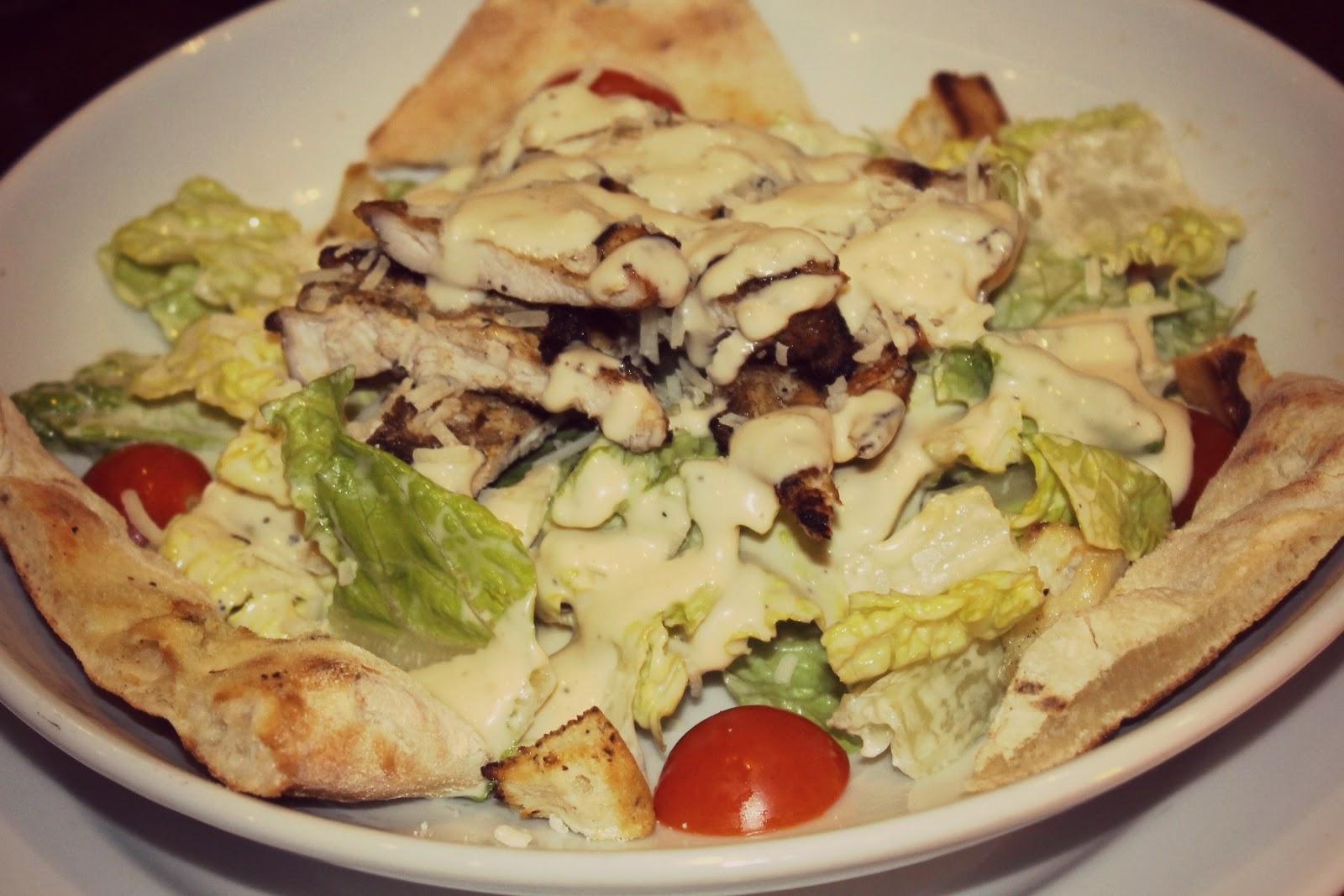 prezzo salad menu