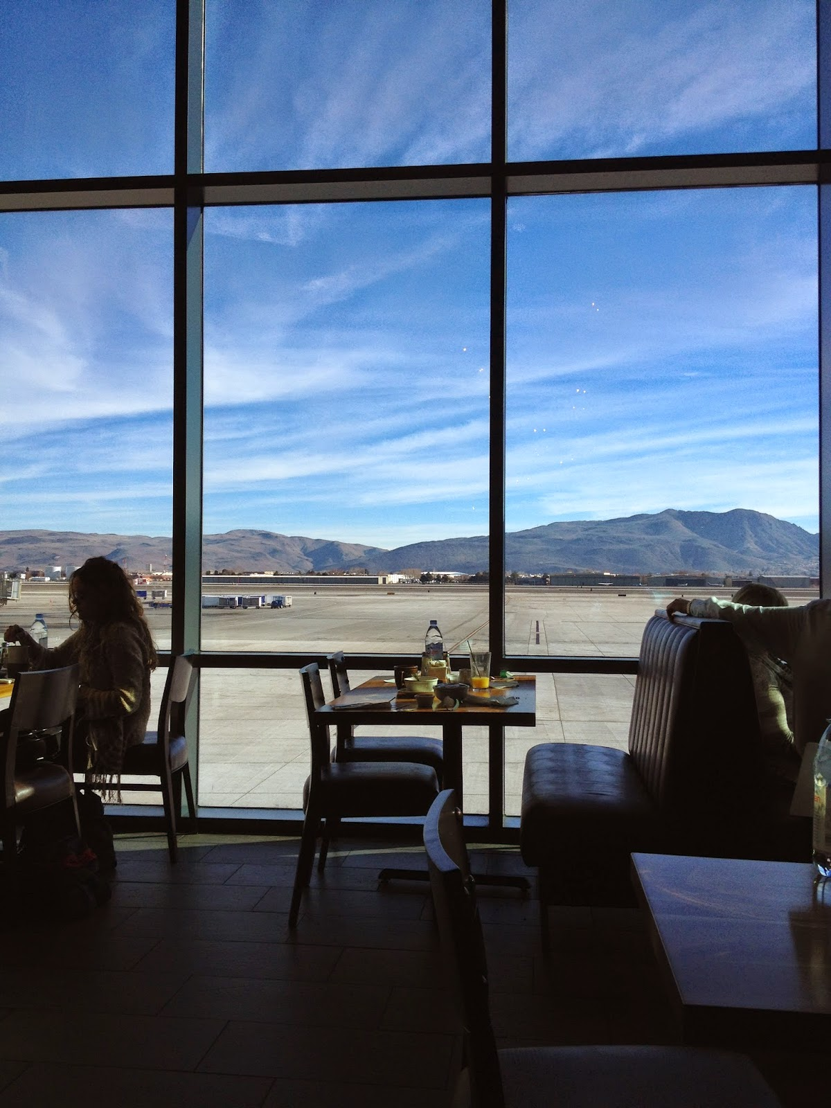 Timber Ridge Restaurant in the Reno Tahoe Airport