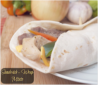 sandwich - wrap mixto