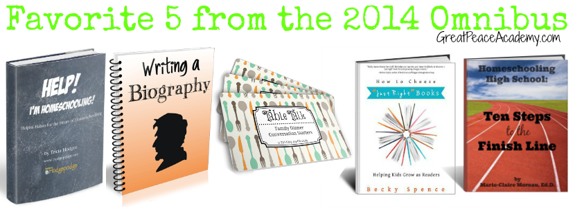 Favorite 5 eBooks from the 2014 Omnibus at Great Peace Academy