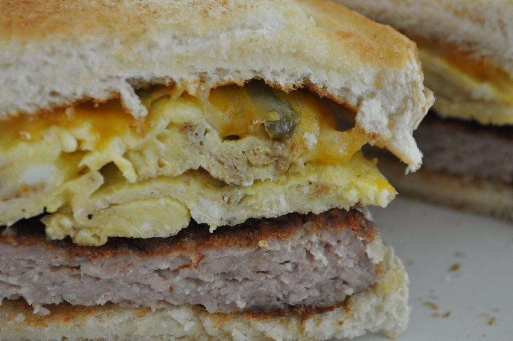 cowboy breakfast sandwiches 16 slices texas toast butter 1 pound