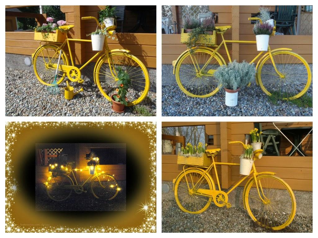 Året runt med trädgårds cykeln