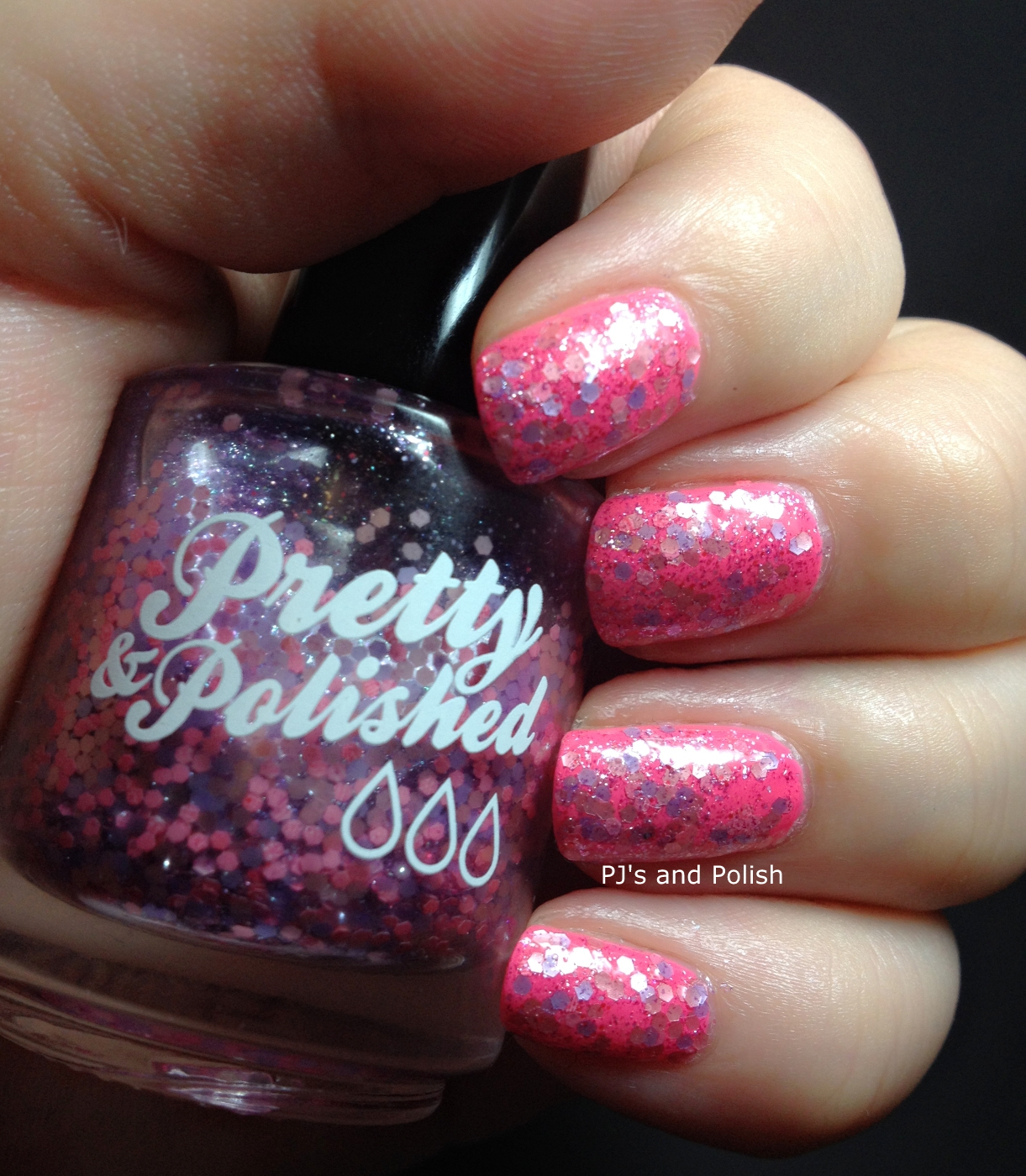 Swatch & Review Pretty & Polished Watch it in C-D! China Glaze Peonies & Park Ave Seche Vite
