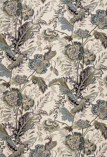 winter floral fabrics