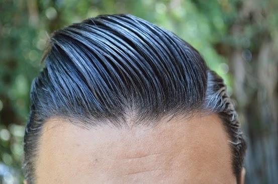 Hasil Pemakaian atau Contoh Aplikasi Setelah Memakai Minyak Rambut Pomade Variant American Pomade Ultimate Sin