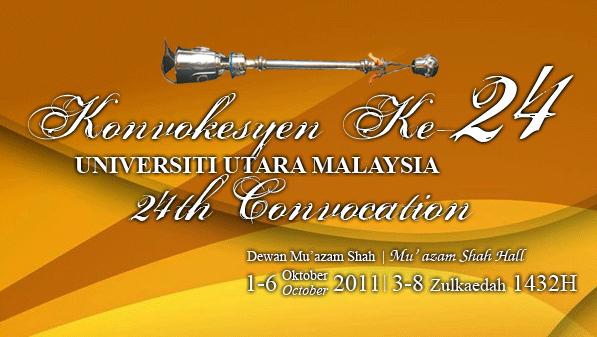 UUM Convocation Ceremony Undergraduate Postgraduate