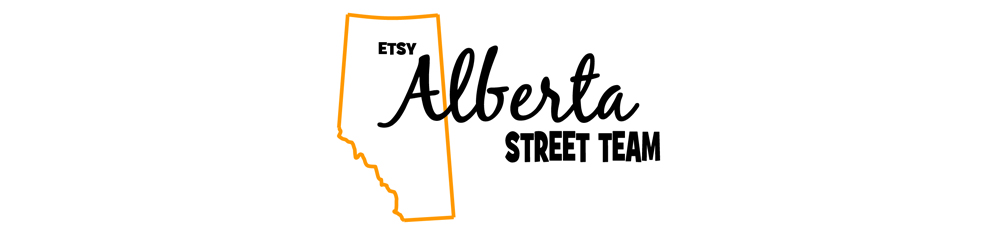 Etsy Alberta Street Team Blog