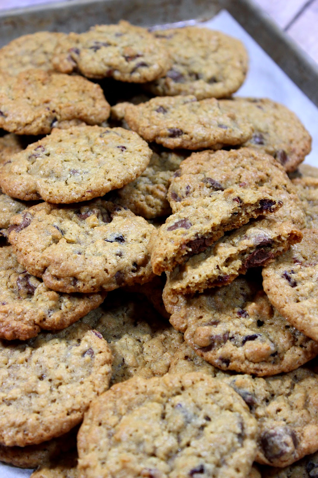 chocolate and white chocolate chip cookies chocolate oatmeal cookies ...