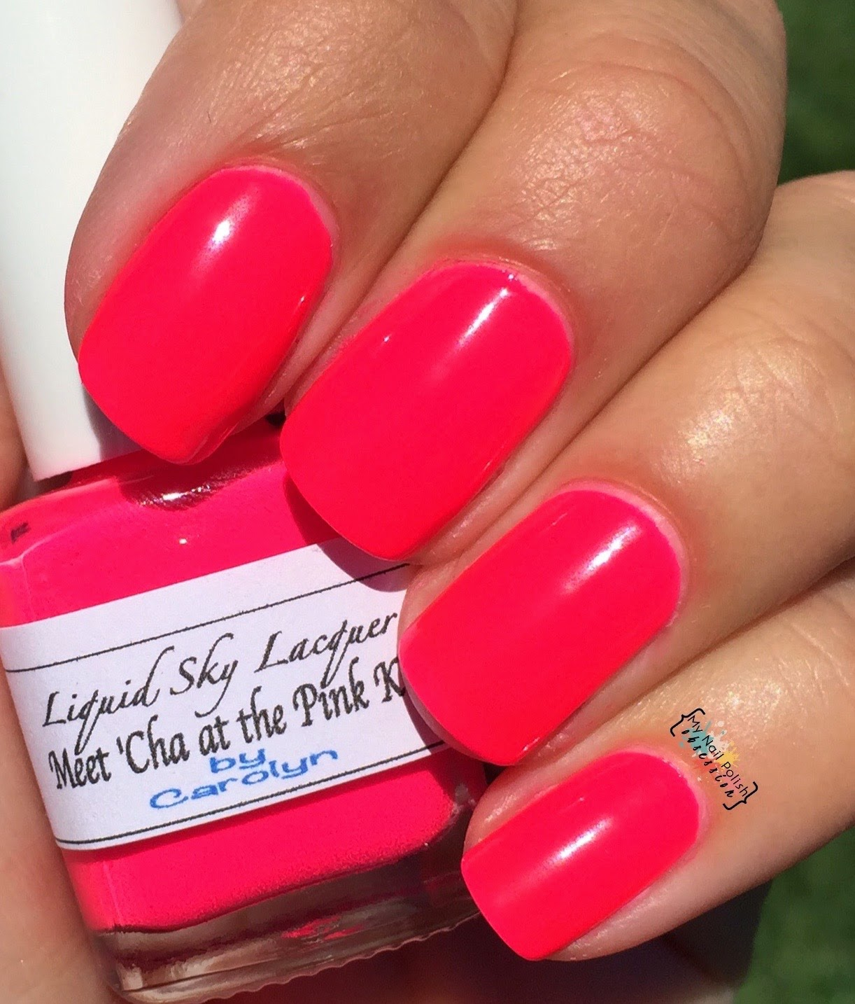 Liquid Sky Lacquer Meet 'Cha at the Pink Kitty