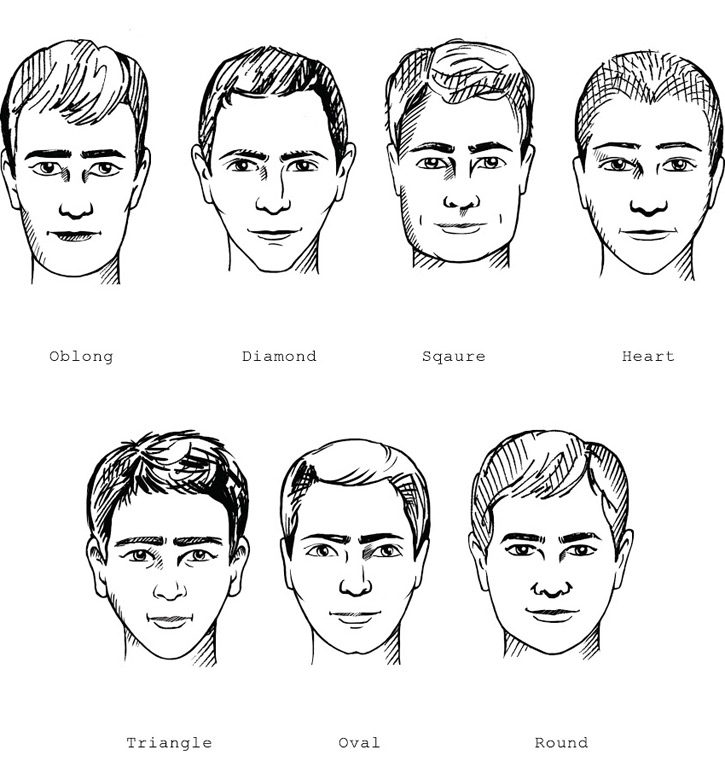 Men With Round Faces Should Consider A Cut An Off Center Part Height Or Some Volume This Creates Squarer Shape To Offset The Roundness Of Your