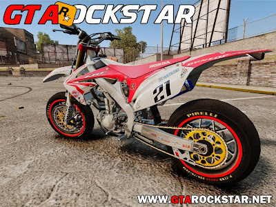 GTA IV - Honda CRF 450 Turbo Motard
