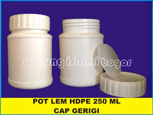 Jual Pot Toples HDPE 250ml