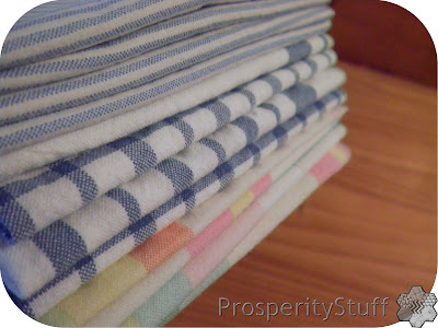 ProsperityStuff Napkins - striped & plaid