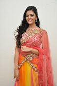 sri mukhi glam pix in half saree-thumbnail-15